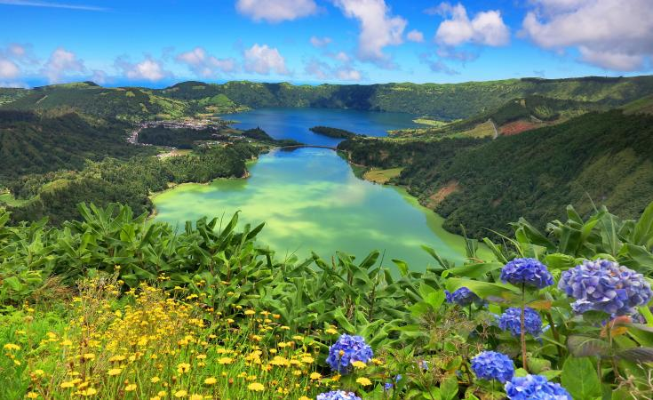 The Azores, for outstanding natural beauty