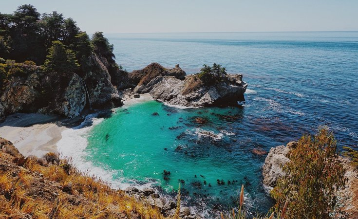 Find your inner peace in Big Sur, California