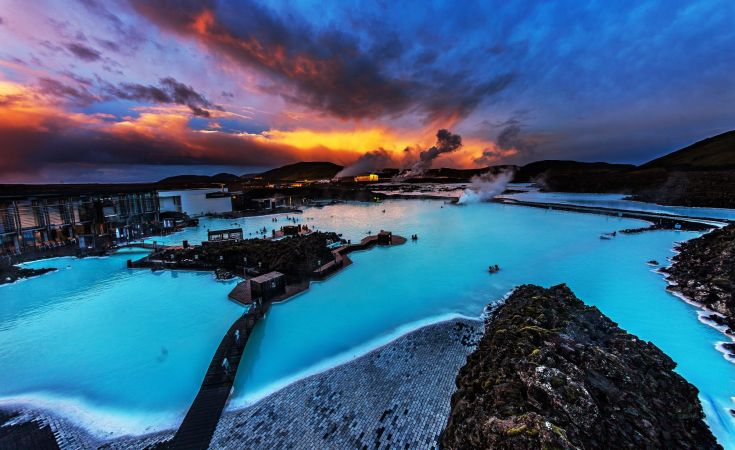 The Blue Lagoon in Iceland - unique and hospitable