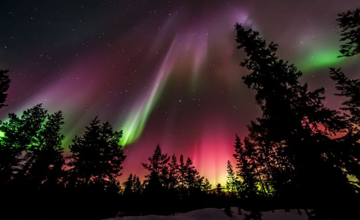 View the Northern Lights in Finland