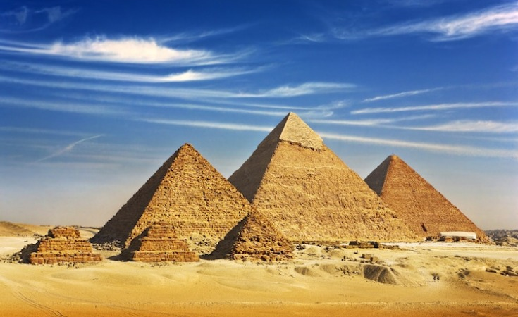 Check out the Pyramids in Egypt