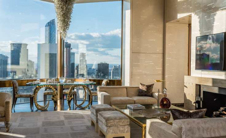 Ty Warner Penthouse, Four Seasons, New York City