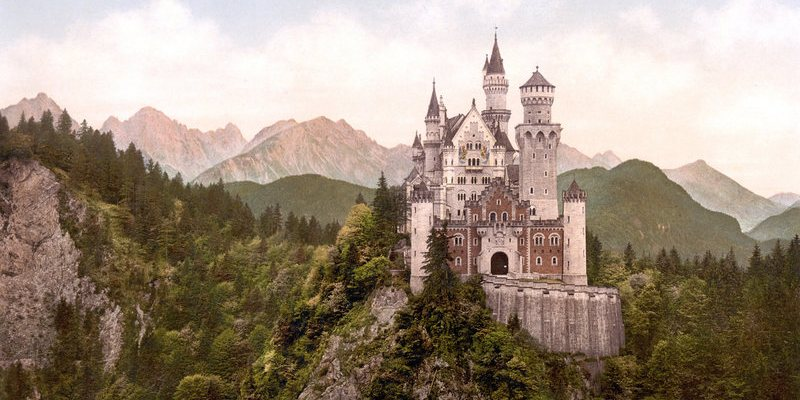 A real-life fairytale castle in Bavaria