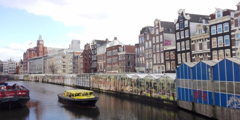 Amsterdam: Floating Tulip Shop