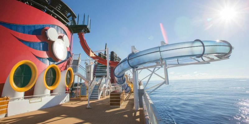 Disney Cruise Kids Slide