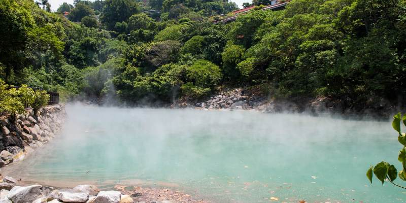 Hot springs bath