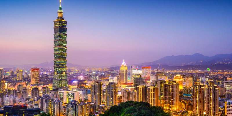 Visit the Taipei 101 tower