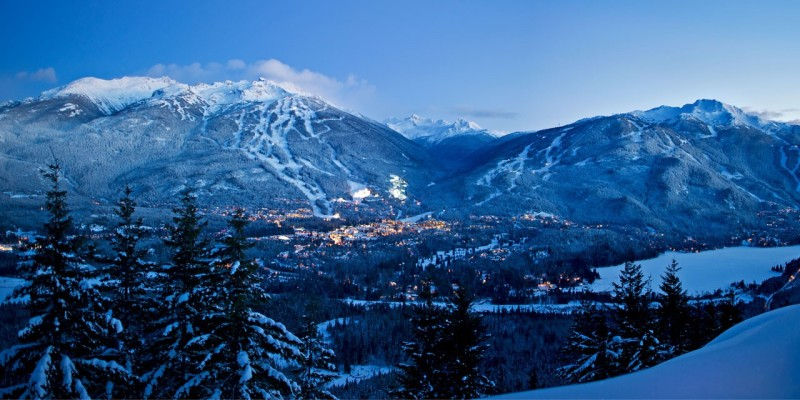 Whistler and Blackcomb in Canada