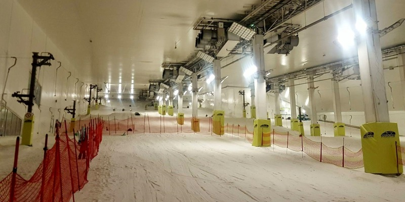 XSCAPE Building SnoZone in the UK