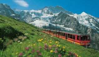 A Delightful Train Tour of Switzerland