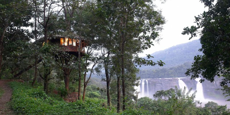 Tree House Resort in Athirapally